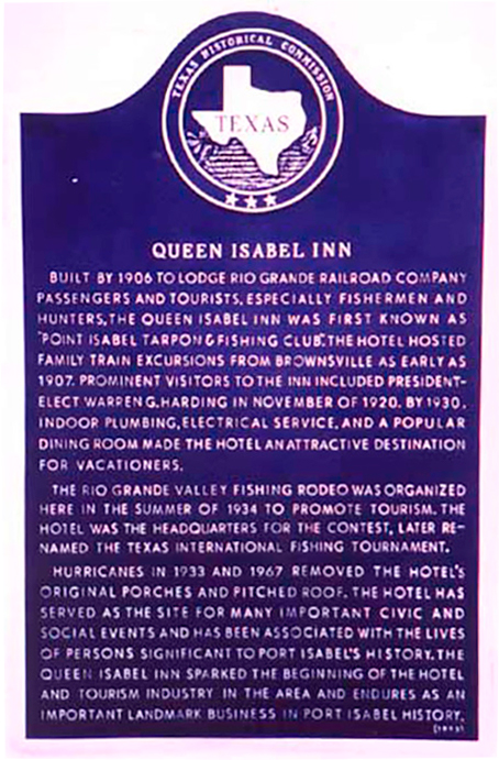Queen Isabel Inn - Texas Historic Landmark